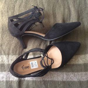 Black Heels w/ Cute Laces